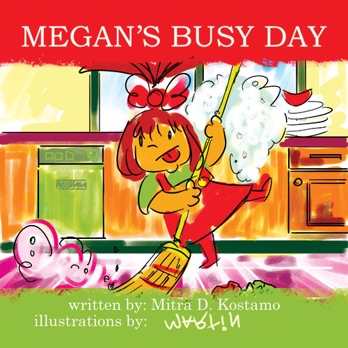 Childrens Book: Megan's Busy Day